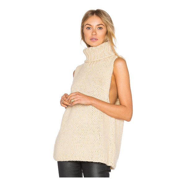 LUCCA COUTURE Mara Sweater Vest - 80% acrylic 20% wool. Hand wash cold. LUCC-WK32. LC090004....