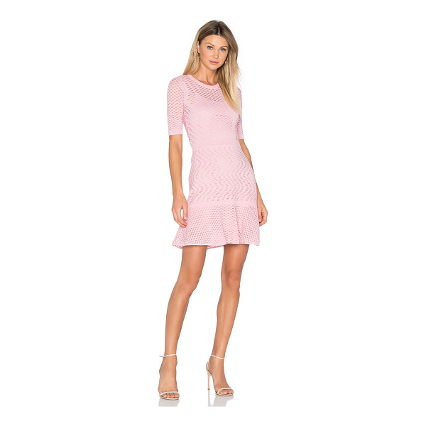 M MISSONI 3/4 Sleeve Fit & Flare Dress - Upscale and modern with a girlish touch. Radiate elegance...