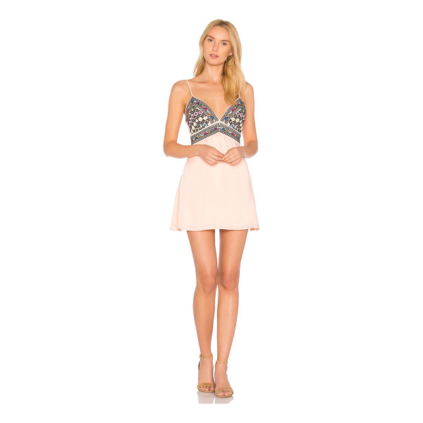MAJORELLE Anchor Dress - Cutesy detailing contrasts the sexy appeal of Majorelle's...