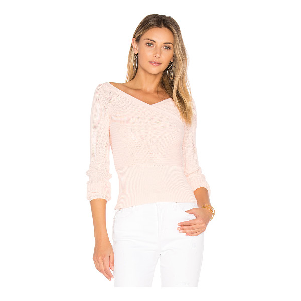 MAJORELLE Palma Sweater Top - Inject your knits with sex appeal a la Majorelle's Palma...