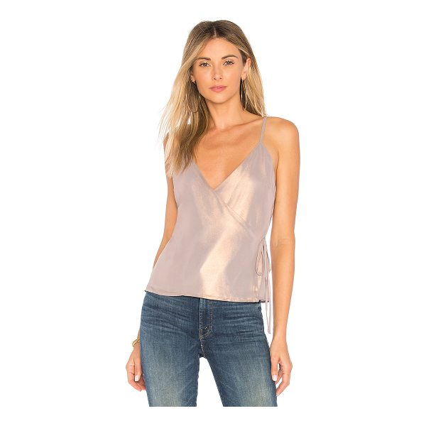MAJORELLE Polina Tank - Self & Lining: 100% poly. Dry clean only. Wrap design with...