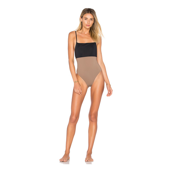 MARA HOFFMAN Combo One Piece - Colorblocking takes to the beach with Mara Hoffman's Combo...