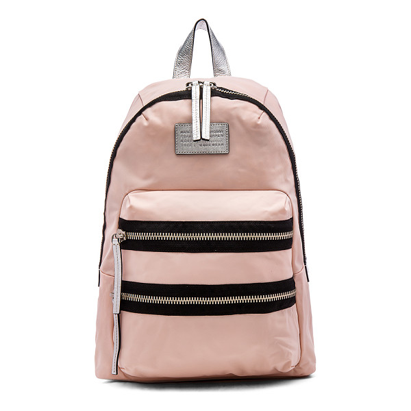 MARC BY MARC JACOBS Domo arigato packrat backpack - Nylon fabric exterior and lining. Adjustable shoulder...