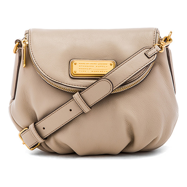 MARC BY MARC JACOBS New q mini natasha crossbody - Leather exterior with cotton fabric lining. Detachable...