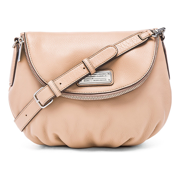 MARC BY MARC JACOBS New q natasha crossbody - Leather exterior with cotton fabric lining. Detachable...