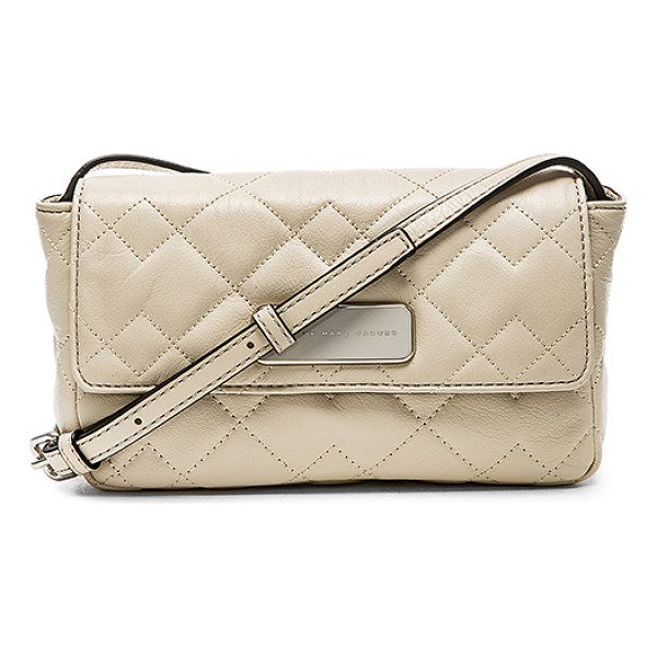 MARC BY MARC JACOBS Sophisticato crosby quilt jule crossbody - Quilted leather exterior with poly fabric lining. Measures...