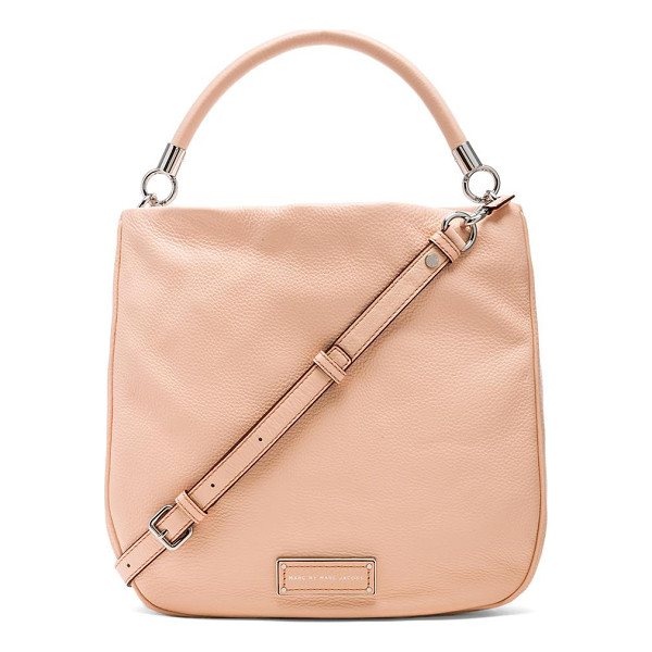 MARC BY MARC JACOBS Too hot to handle hobo - Leather exterior with jacquard fabric lining. Measures...