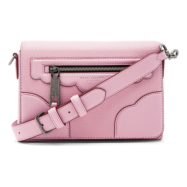 MARC JACOBS Haze Small Shoulder Bag - Leather exterior with nylon fabric lining. Flap top with...