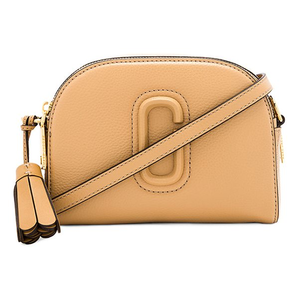 "MARC JACOBS Shutter Camera Bag - ""Leather exterior with nylon fabric lining. Double zip top..."