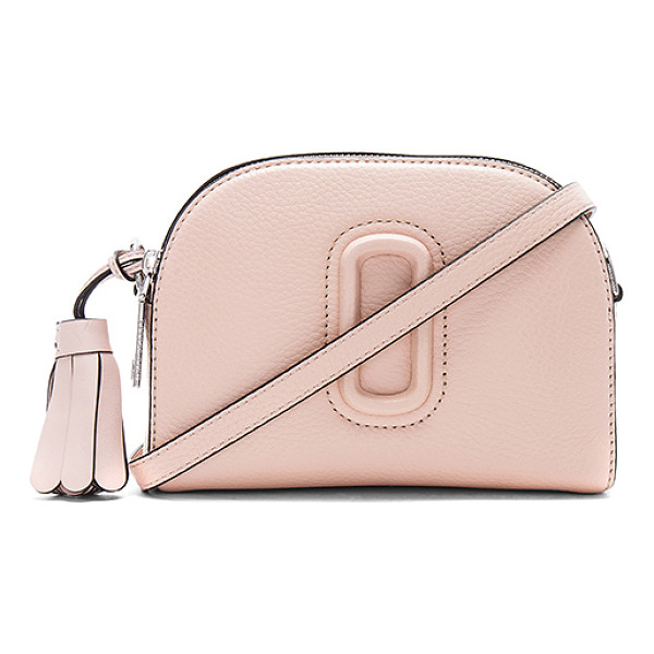 MARC JACOBS Shutter Small Camera Bag - Leather exterior with nylon fabric lining. Double zip top...