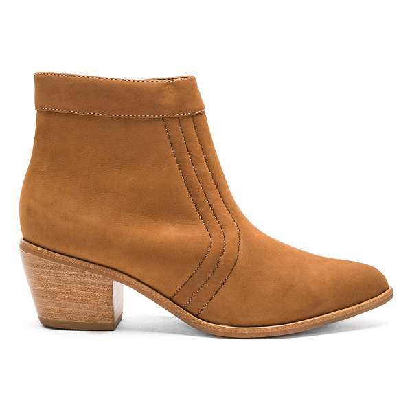 MATISSE Cece Booties - Leather upper with man made sole. Side zip closure.