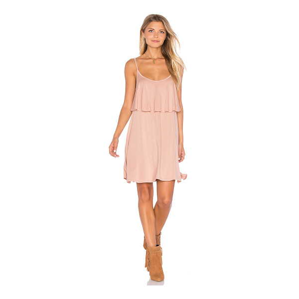 MICHAEL LAUREN Marlow Mini Dress - 94% rayon 6% spandex. Dry clean recommended. Unlined....