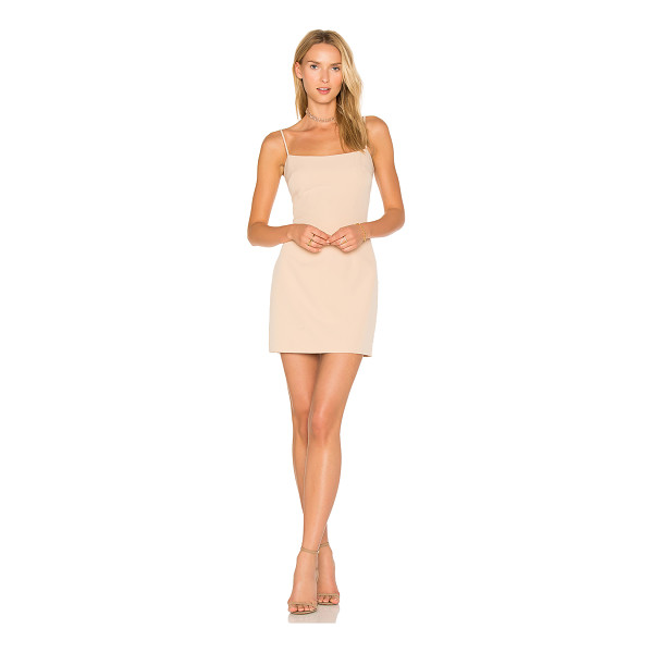 MILLY Mini Slip Dress - Poly blend. Dry clean only. Fully lined. Hidden back zipper...