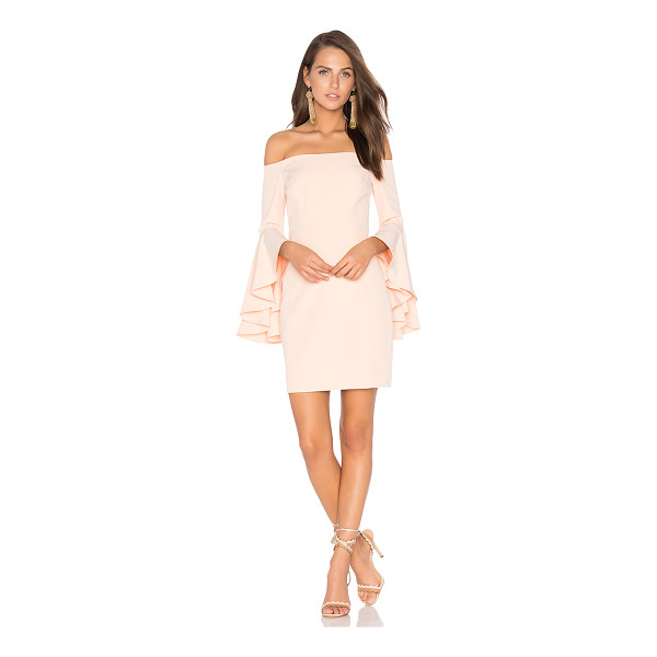 "MILLY Selena Mini Dress - ""Poly blend. Dry clean only. Fully lined. Flared sleeves...."