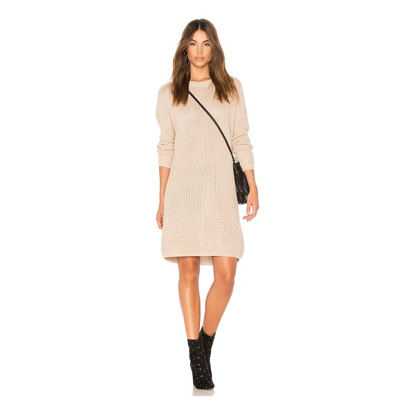 MINKPINK Don't Cross Me Lace Up Knit Dress - 55% cotton 45% acrylic. Hand wash cold. Unlined. Rib knit...