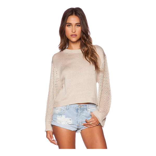 MINKPINK Ghost ship sweater - 50% acrylic 50% cotton. Hand wash cold. MINK-WK79....