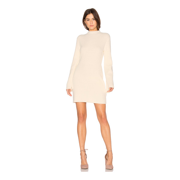 MINKPINK Open Arms Jumper Dress - 55% cotton 45% acrylic. Hand wash cold. Unlined. Flared...