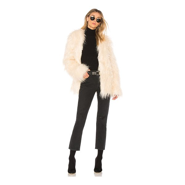 MINKPINK OTT Long Luxe Fur Jacket - Faux Fur: 100% polyLining: 100% viscose. Dry clean only....