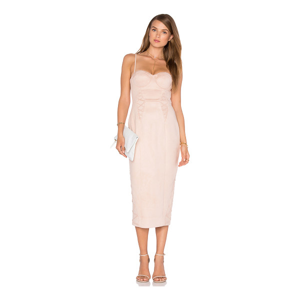 MISHA COLLECTION Leia Dress - Self & Lining: 95% poly 5% spandex. Dry clean only. Padded...