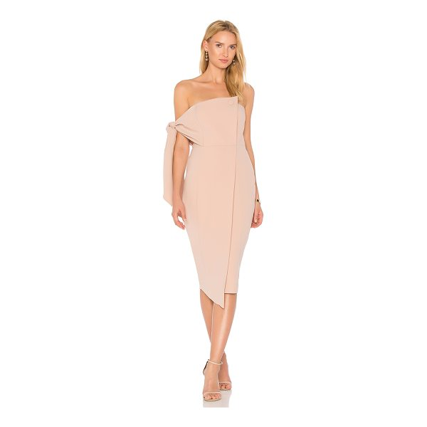 """MISHA COLLECTION Romi Dress - """"Poly blend. Dry clean only. Fully lined. Lightly padded..."""