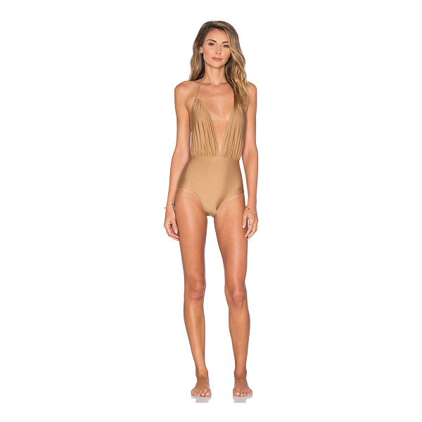 MOTEL Jagger one piece swimsuit - Shell: 80% poly 20% elastaneLining: 100% poly. Hand wash...