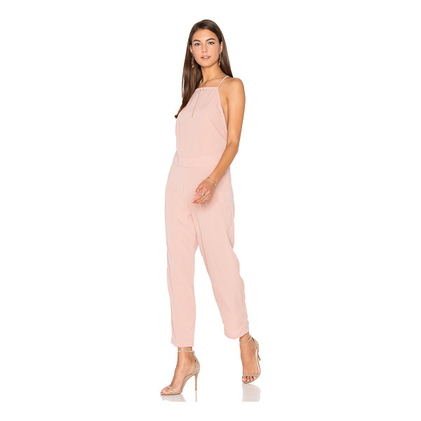MOTEL Kauna Jumpsuit - 100% viscose. Hand wash cold. Back button closure. Back...