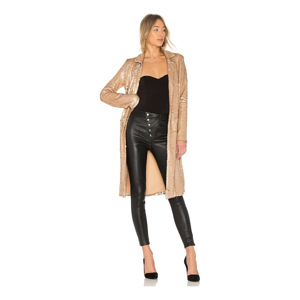 NBD Angeli Sequin Duster - Exude major confidence with minimal attitude in the Angeli...