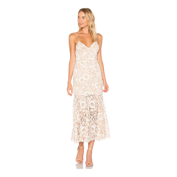NBD Brielle Dress - Let NBD give you a lesson in lace with the Brielle Gown....