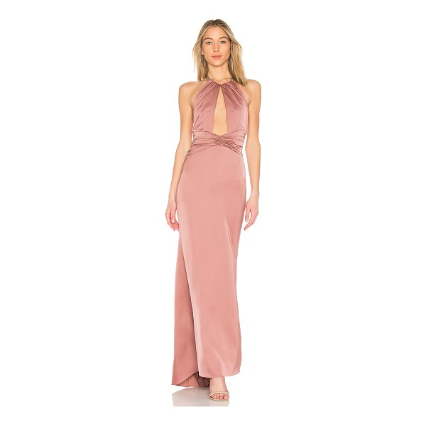 NBD Champagne King Gown - Raise your glass to the Champagne King Gown by NBD. This...