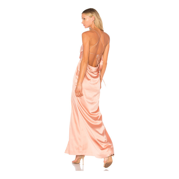 NBD x REVOLVE Zane Gown - Step into sultry satin perfection with the NBD Zane Gown....