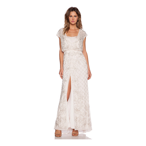NEEDLE & THREAD Aura sequin maxi dress - Self & Lining: 100% polyCombo: 100% silk. Dry clean only....