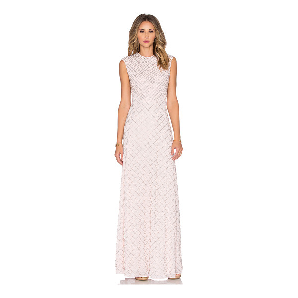 NEEDLE & THREAD Circle mesh maxi dress - Self & Lining: 100% poly. Dry clean only. Fully lined....