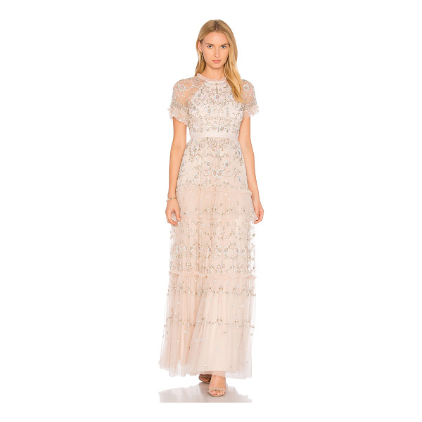 NEEDLE & THREAD Constellation Lace Gown - Shell: 100% nylonLining: 100% poly. Dry clean only. Fully...
