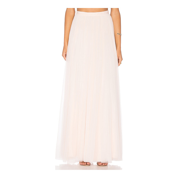 NEEDLE & THREAD Tulle Maxi Skirt - Shell: 100% nylonLining: 100% poly. Dry clean only. Fully...