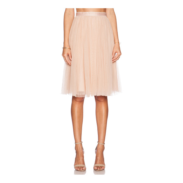 NEEDLE & THREAD Tulle midi skirt - Self: 100% nylonLining: 100% poly. Dry clean only. Skirt...
