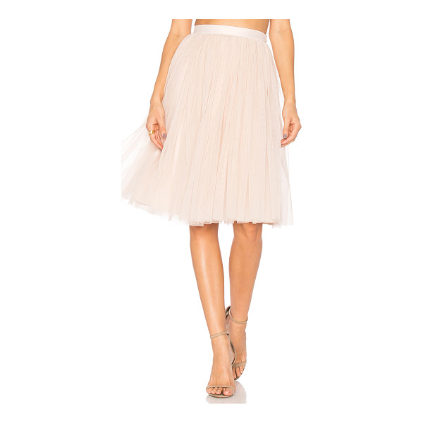NEEDLE & THREAD Tulle Midi Skirt - Shell: 100% nylonLining: 100% poly. Dry clean only. Fully