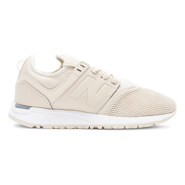 NEW BALANCE 247 Sneaker - Textile and man made upper with rubber sole. Lace-up front....