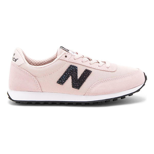 NEW BALANCE 410 Sneaker - Textile and suede upper with rubber sole. Lace-up front....