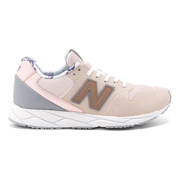 NEW BALANCE 96 Sneaker - Textile and man made upper with rubber sole. Lace-up front....
