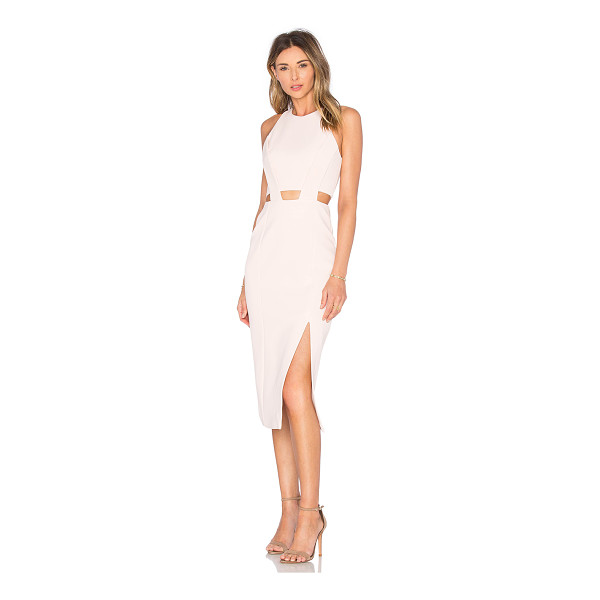 NICHOLAS Bandage Waist Cut Out Dress - Main: 84% viscose 12% polyamide 4% elastaneLining: 95% poly...