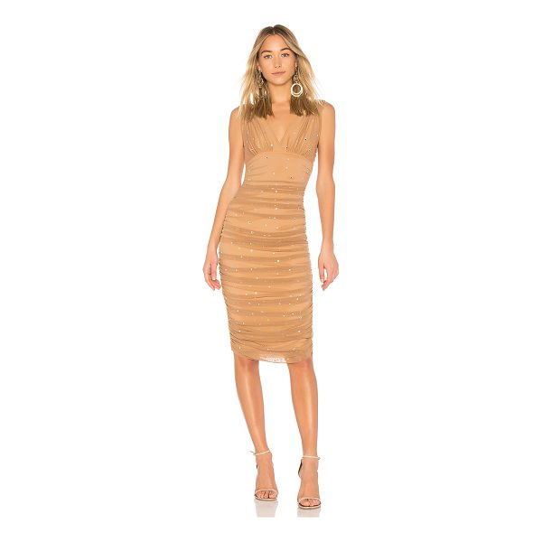 NORMA KAMALI X REVOLVE Tara Rhinestone Dress - Nylon blend. Dry clean only. Fully lined. Stretch fit....
