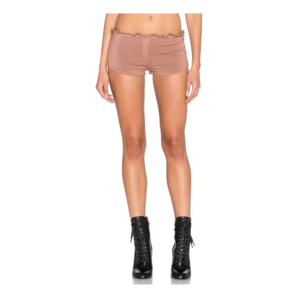 NYTT Lounge short - 95% rayon 5% spandex. Hand wash cold. Elastic waist with...