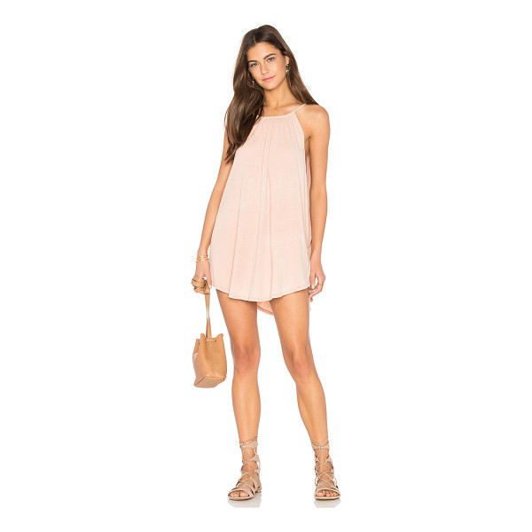 NYTT Mini Dress - Cotton blend. Hand wash cold. Unlined. Exaggerated...