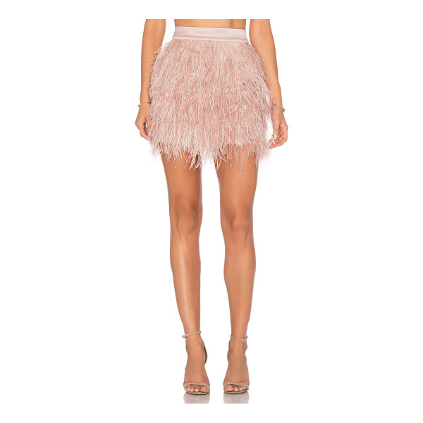 OLCAY GULSEN Mini Feather Skirt - Shell: 100% feathersLining: 100% poly. Hand wash cold....