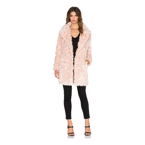 OLCAY GULSEN Offspring faux fur coat - Shell: 92% acrylic 8% polyLining: 100% poly. Dry clean...