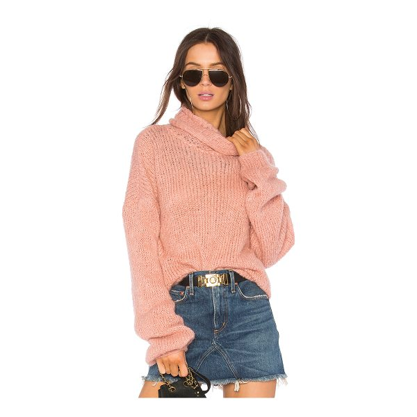 ONE ON ONE Painterly Sweater - Wool blend. Hand wash cold. Rib knit edges. ONON-WK6. 217...