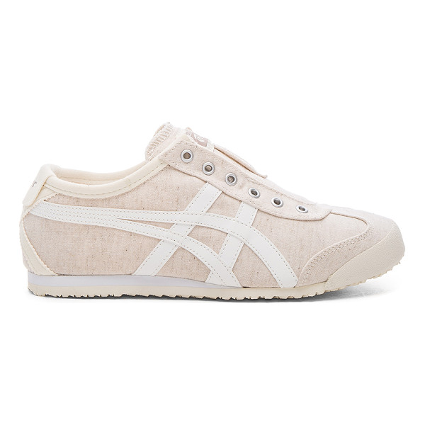 ONITSUKA TIGER BY ASICS Mexico 66 slip on - Textile upper with rubber sole. Elasticized slip-on...