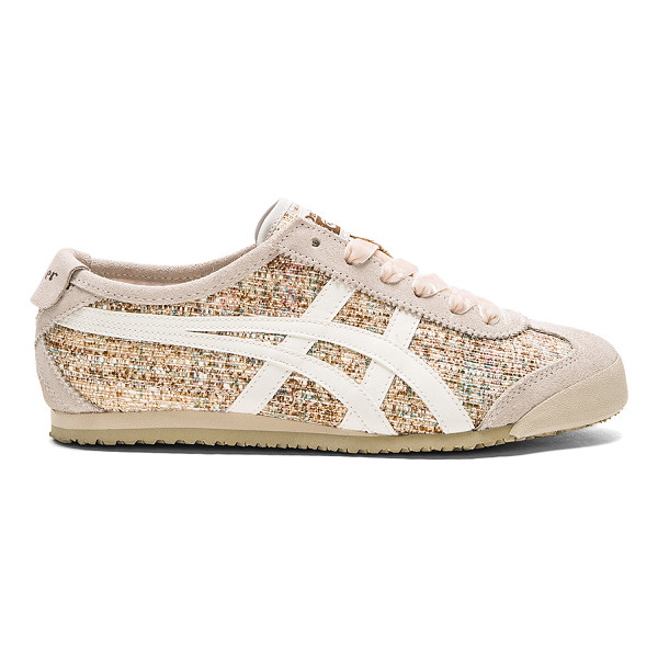 ONITSUKA TIGER BY ASICS Mexico 66 Sneaker - Suede and textile upper with rubber sole. Lace-up front....