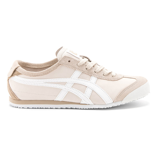 ONITSUKA TIGER BY ASICS Mexico 66 Sneaker - Suede and leather upper with rubber sole. Lace-up front....