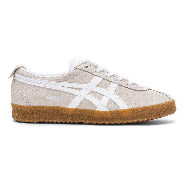 ONITSUKA TIGER BY ASICS Mexico Delegation - Suede and textile upper with rubber sole. Lace-up front....